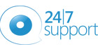 24 7 support